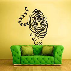 Wall Vinyl Sticker Decals Decor Art Bedroom Tiger Animal Detailed (Z720) StickersForLife http://www.amazon.com/dp/B00DH82PP0/ref=cm_sw_r_pi_dp_Vvsevb1D8RJG8