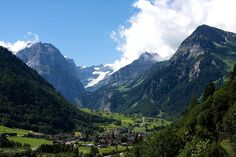 Linthal and Glarus Alps