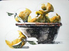 3번째 이미지 Watercolor Paintings, Watercolour, Gouache, Still Life, Art For Kids, Flora, Fruit, Drawings, Veggies