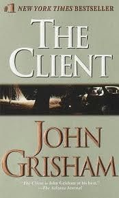 My first John Grisham novel. Definitely a page turner. The Client John Grisham, John Grisham Novels, Kinds Of Reading, Movies Worth Watching, Chapter One, Page Turner, Popular Books, Fantasy Books, Great Books