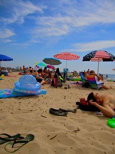 Grand Haven, MI City beach. Photography by Alex Mann.