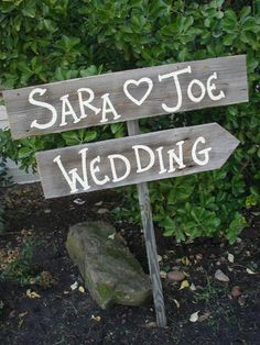 DIY Rustic Double Directional Sign, country decor, cabins, log, wedding