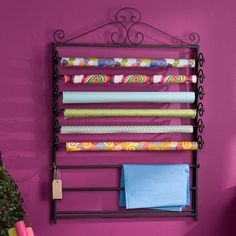 I pinned this Verosa Wall Craft Rack from the Spring Cleaning Event event at Joss & Main!