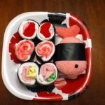Sushi baby shower gift