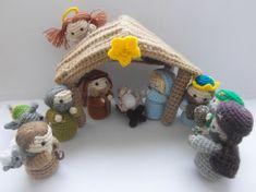 Amigurumi Nativity Scene - crochet pattern - PDF instructions. $10.50, via Etsy.