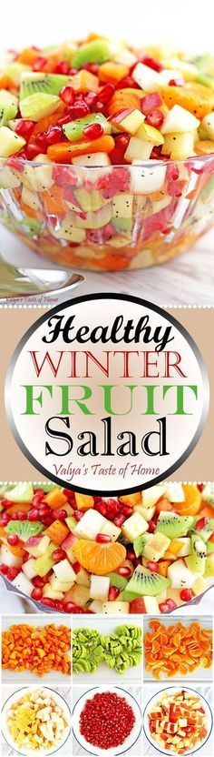 This salad is so easy to make and can be a great addition to your meal as a dessert or a healthy snack any time the day.