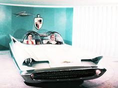 The Lincoln Futura Concept Car (which later became the Batmobile)– 1955