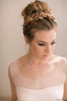 221 Wedding Hairstyle For Medium Hair (homecoming updo medium lengths)