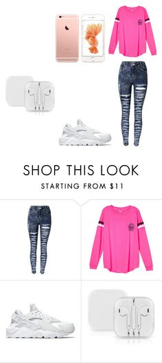 """""""Untitled #13"""" by lataya-brimm ❤ liked on Polyvore featuring NIKE"""