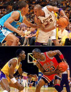 Kobe Bryant vs. Michael Jordan