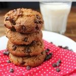 grain-free chocolate chip cookies pin