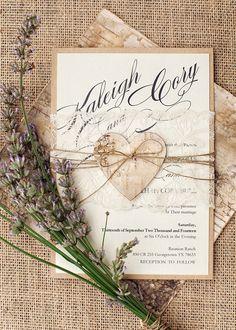 WEDDING INVITATIONS 01/lheart/z