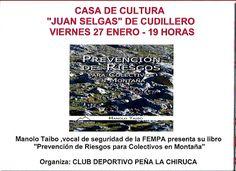 Grupo de montaña y senderismo La Chiruca: VIERNES 27 ENERO