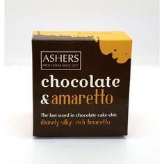 Ashers Silky Amaretto Chocolate Cake
