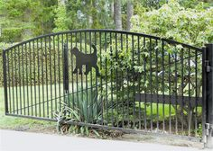 View our past fence projects photo gallery, We hope you think of us for your next fence project. Fencing Companies, Garden Bridge, Past, Fence Gates, Photo Galleries, Backyard, Exterior, Outdoor Structures, Gallery