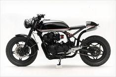 Moto :   Illustration   Description   Honda CB750 'Convertible of 1982 by Steel Bent Customs