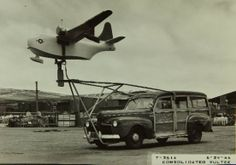 1940s : Flight Testing Equipment : Consolidated/Convair Aircraft Factory San Diego