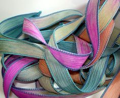 Moody 42 inch silk ribbon By Color Kissed by ColorKissedSingles, $3.00