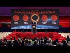 The Coming Four Blood Moons 2-1 Joel 2:31 The sun will be turned to darkness and the moon to blood before the coming of the great and dreadful day of the Lord.  Four Blood Moons by Pastor Mark Biltz http://youtu.be/mIXCQptveb4   Prophecy in the News  Prophecy in the News: Eclipses and the Second Coming http://www.youtube.com/watch?v=lL0dv_3gdvg=share=PL82B0C7AF536...