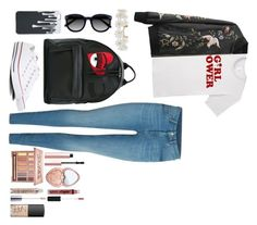"""Untitled #65"" by alexapimkie on Polyvore featuring Converse, Chiara Ferragni, Ace, Humble Chic, Urban Decay, NARS Cosmetics, Too Faced Cosmetics and NYX"