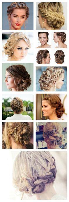 #Peinados recogidos para bodas: