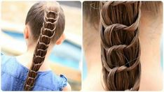 Holiday DIY Knotted Ponytail Hairstyle -  http://www.gottalovediy.com/wp-content/uploads/sites/1137/2015/12/knottedponytail.jpg - When I first saw this knotted ponytail hairstyle I was amazed at how beautiful it was, but I also thought it was going to be really complicated and I was shocked to see just how easy it is to do this.  - http://www.gottalovediy.com/diy-knotted-ponytail-hairstyle/