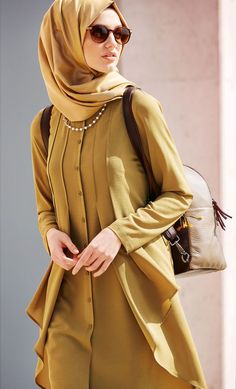 Hijab Designs - Hijab Style - Arabic Hijab Fashion for girls Hijab Fashion 2016, Abaya Fashion, Modest Fashion, Fashion Outfits, Fashion Fashion, Fashion Women, Hijab Outfit, Abaya Mode, Hijab Stile