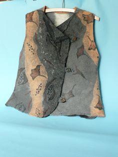 wet wool felting   Other Felt Work - Felt Clothing