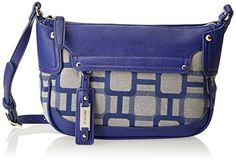 Nine West Mini Vegas Signs Cross Body Bag, Blue Bud, One Size ** Learn more by visiting the image link. Vegas Sign, New Blue, Season Colors, Blue Bags, Satchel, Crossbody Bags, Nine West, Bud, Leather Purses
