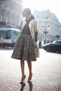 Giovanna ♥  love this short sleeve coat
