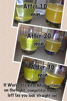 It's Vital- Multi-Vitamin by It Works Global. Shows that it dissolves quickly, so you get the majority of the nutrients. https://newlifebodywraps.myitworks.com/Shop/Product/305