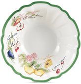 The painterly fruit and floral designs that popularized Villeroy & Boch's iconic French Garden Collection get a fresh contemporary update in the Arles pattern. Casual Dinnerware, Lattice Design, Vintage Plates, Villeroy, Plates And Bowls, Rice Bowls, Summer Fruit, Birthday Decorations, Flute