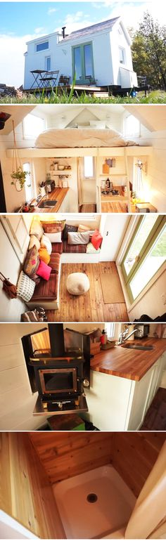 Amazing how they built this tiny house within 40 days!