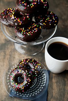 baked chocolate doughnuts recipe | use real butter