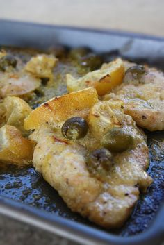 Dinners & Dreams: Moroccan Preserved Lemon and Olive Roast Chicken