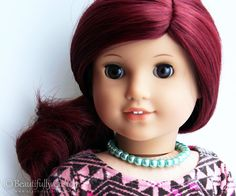 Cotton Candy Curls Pink Amp Mint Blue Custom Doll Wig For
