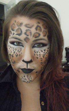 Simple Cat Makeup for Halloween   CAT COSTUME FACE MAKEUP   Makeup ...