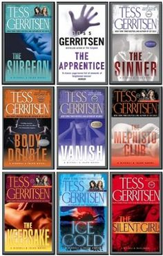 Tess Gerritsen - Rizzoli & Isles Series. Thrillers are a great weakness of mine, and Gerritsen's books are my favorites. I've collected them all. Serial killers, police work, pathology, criminal minds. Worth a check.
