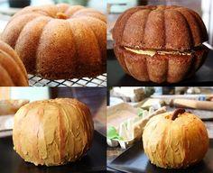 pumpkin cake!