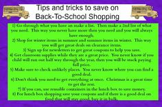 Simply Me: Tips and tricks to save on Back-To-School Shopping