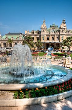 Casino Monte - Carlo, Monaco Not exactly...I was in Monte Carlo but too young to go to a casino...I was at a restaurant instead, but this view seems familiar...have to go back.