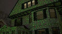 Elf Light Laser Show House Projector - image 5 from the video & Holigoo Red Green Lotus Wireless Control Laser Christmas Lights ...