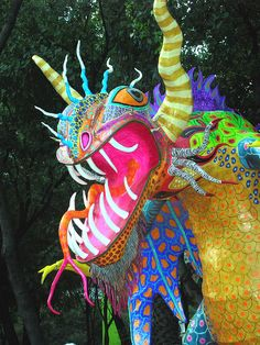 alebrijes ♣️Fosterginger.Pinterest.ComMore Pins Like This One At FOSTERGINGER @ PINTEREST No Pin Limitsでこのようなピンがいっぱいになるピンの限界