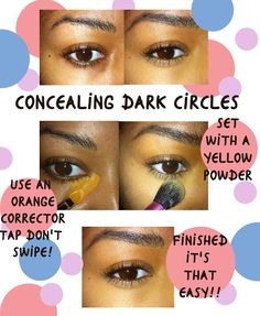 Color correct your dark circles! - Beauty By Lee