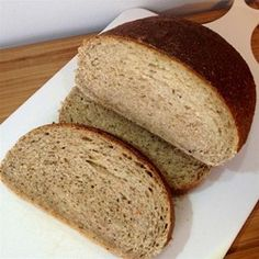 Real NY Jewish Rye Bread Allrecipes.com Sourced for Organic ingredients-HEALTHY CHOICE :)