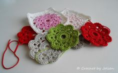 Crochet by Jolien: The Maybelle Flower Square