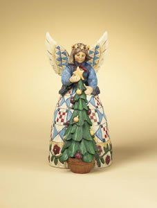 Jim Shore - Heartwood Creek - Angel with Christmas Tree by Enesco - 105172 by Jim Shore - Heartwood Creek, http://www.amazon.com/dp/B0007XPXZM/ref=cm_sw_r_pi_dp_ev67qb0TJH5PA