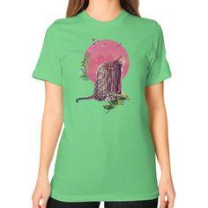 Jaguar Unisex T-Shirt (on woman)