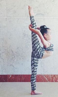 """I can do ANYTHING in my ivivva rhythmic tights!"" -Kalea. 