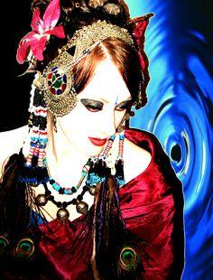 Ela Rogers tribal fusion bellydance. Originally pinned by Amy Danielson